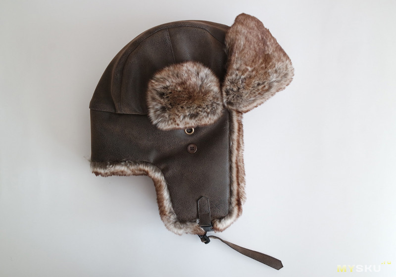 Зимняя шапка-бомбер или чилийская ушанка