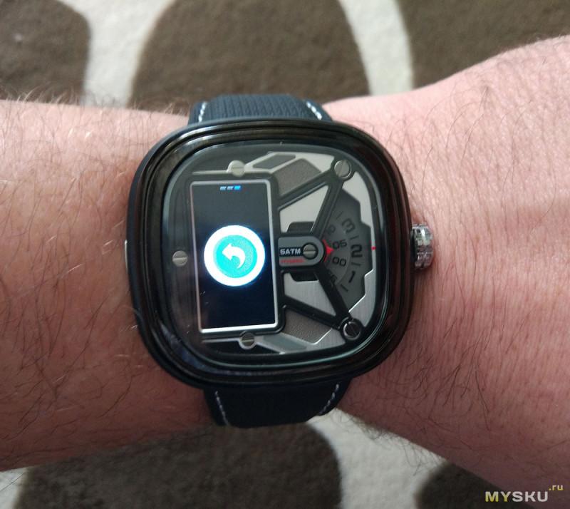 Полуумные часы Zeblaze Hybrid 2