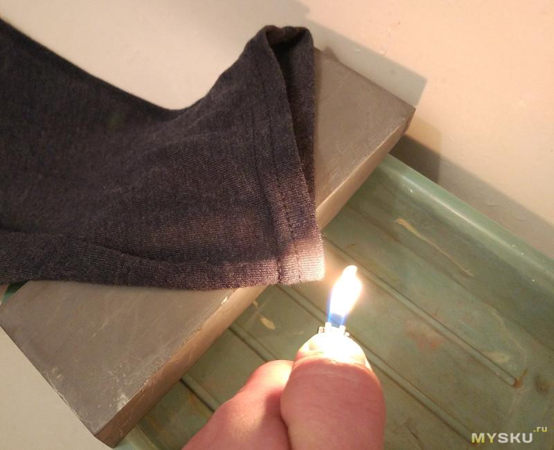 Поджигаем огнестойкие кальсоны от фирмы driFIRE. Радость и разочарование