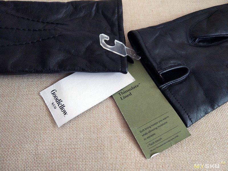 Кожаные перчатки Goodfellow & Co с утеплителем Thinsulate