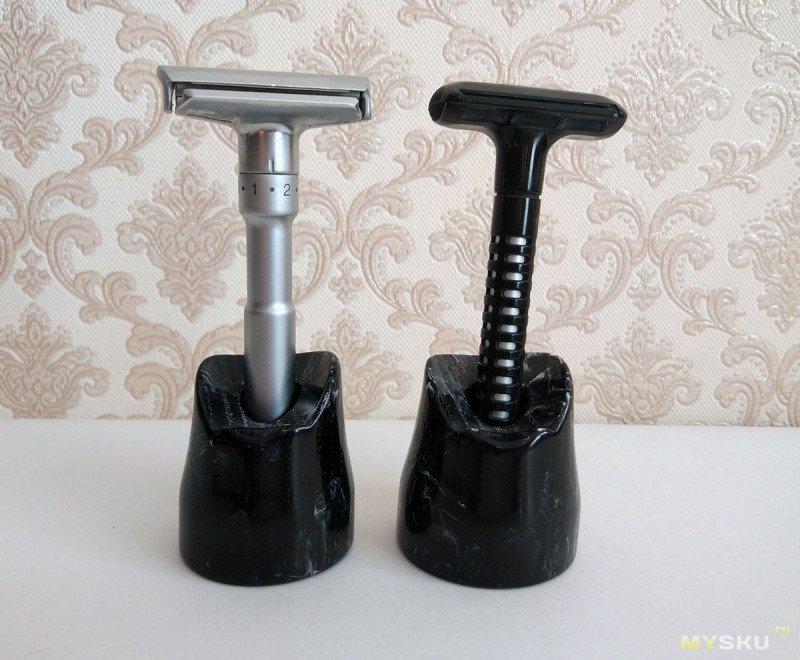 Про подставку для помазков и бритвенных станков Dscosmetic