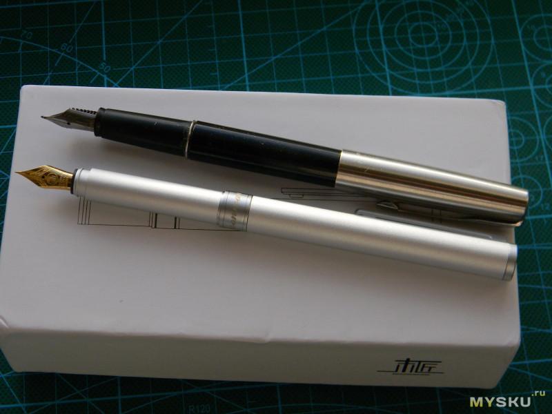 Алюминиевая чернильная ручка Moonman N1 или Хьюстон,вас ждут проблемы