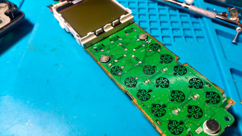 Микрики, дорабатываем DECT-овый телефон.