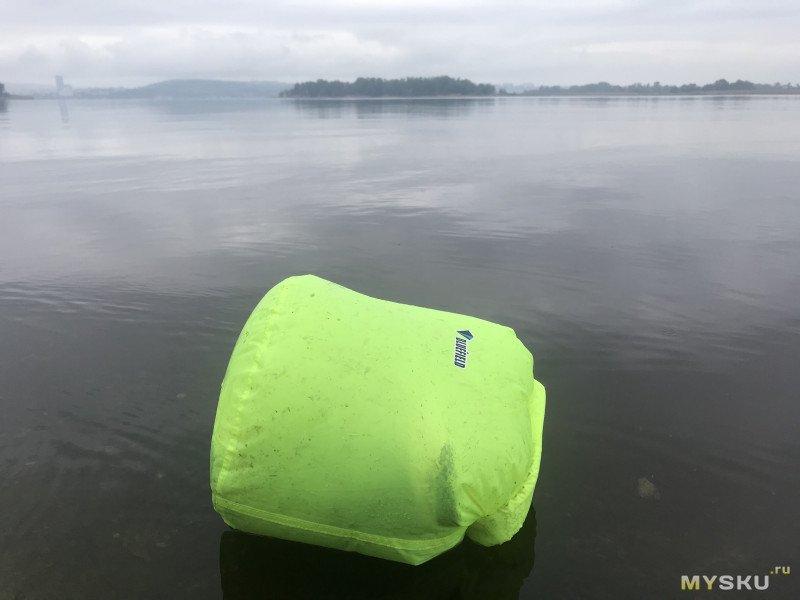Плавающий мешок на Волге