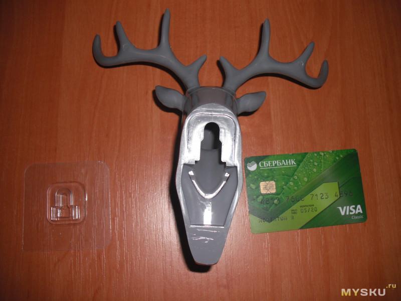Вешалка в форме головы оленя