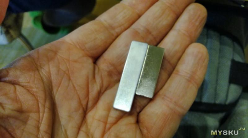 Неодимовые магниты и доработка строительного браслета