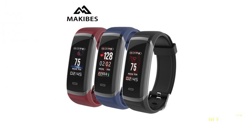 Умный браслет Makibes HR3 как конкурент Xiaomi Mi Band 2. Обзор только подоспевшего.