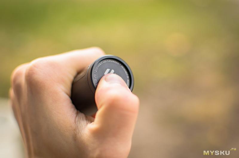Обзор фонаря Xiaomi FZ101 (BEEBEST) - зум, встроенный аккумулятор, зарядка и 1000 люмен.