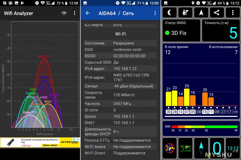 "Обзор Homtom S17: экран 5.5"", 640x1280, 18:9, 4 ядра MT6580, 2GB RAM, 16GB ROM, 2SIM + MicroSD."