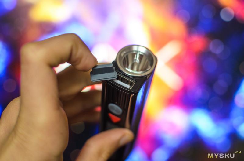 Многофункциональный фонарь Warsun X5T: 800 люмен, LED-лампа, повербанк и даже встроенная сигнализация.