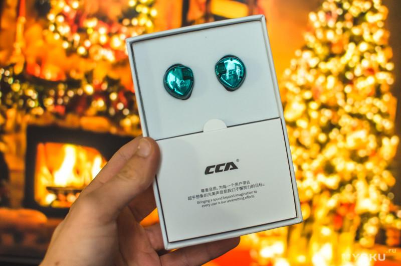 Гибридные наушники CCA C04/CA4 (1 динамический + 1 арматурный излучатель)