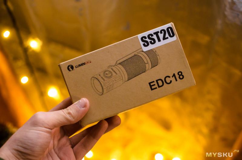Обзор компактного EDC фонаря Lumintop EDC18 с тремя SST20 (4000k), плавной регулировкой яркости (Anduril) и магнитом в хвосте.