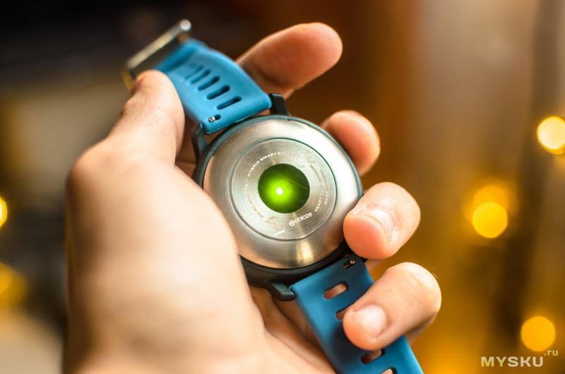 Обзор привлекательных и оригинальных гибридных умных часов Zeblaze Hybrid Watch. Хорошее совмещение стрелок с OLED дисплеем.