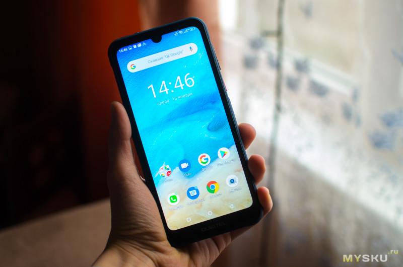 """Обзор слабенького, но всё же оригинального защищенного смартфона Oukitel Y1000 (6"""", 2/32GB, 3600mAh, IP68)."""