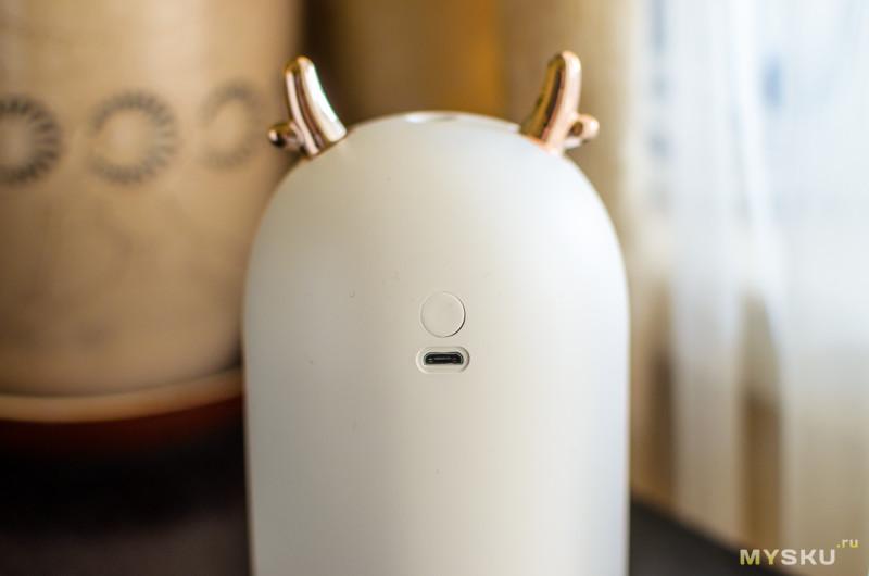 Обзор небольшого увлажнителя воздуха как элемента декора (Meng Chong M106).