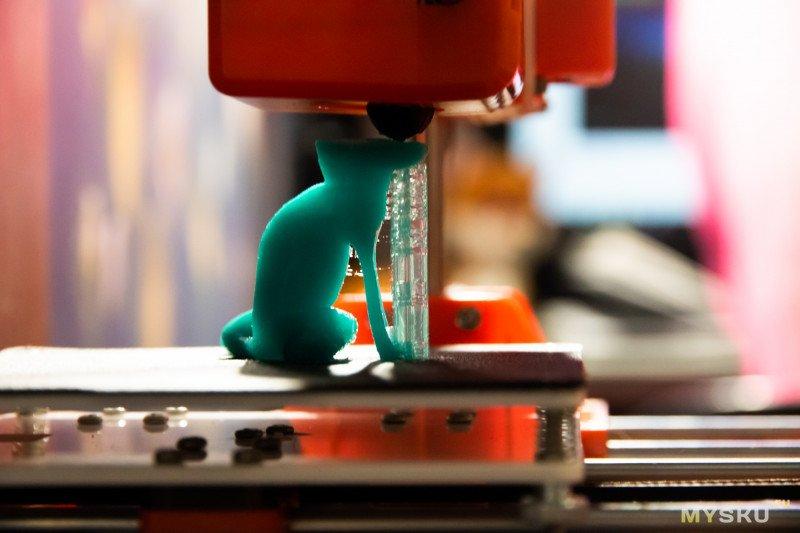 Обзор одного из самых дешевых 3D принтеров Easythreed X1 Mini (100x100x100мм). На примере новичка.