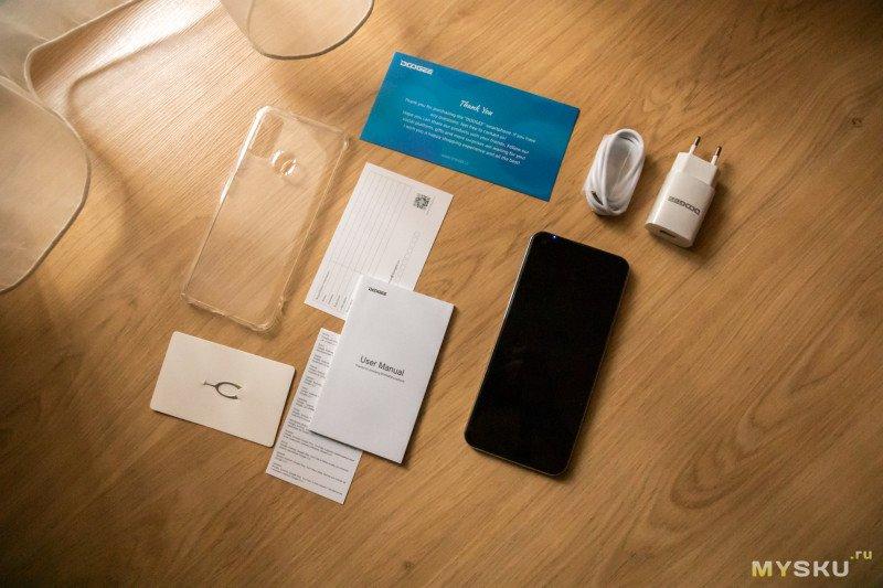 "Обзор бюджетного смартфона Doogee N30 (White): дисплей 6.55"" HD+, MTK Helio A25, 4500mAh и дизайн под стать конкурентам. Но конкурент ли сам N30?"