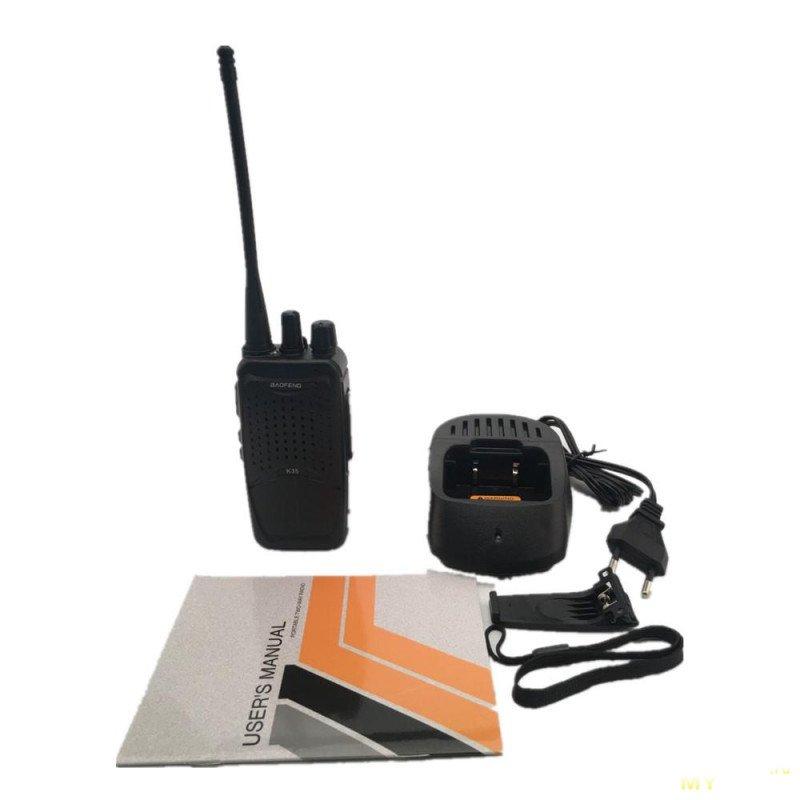 Рация BAOFENG K35 (16 каналов, 400-470MHz) за .99 с бесплатной доставкой.