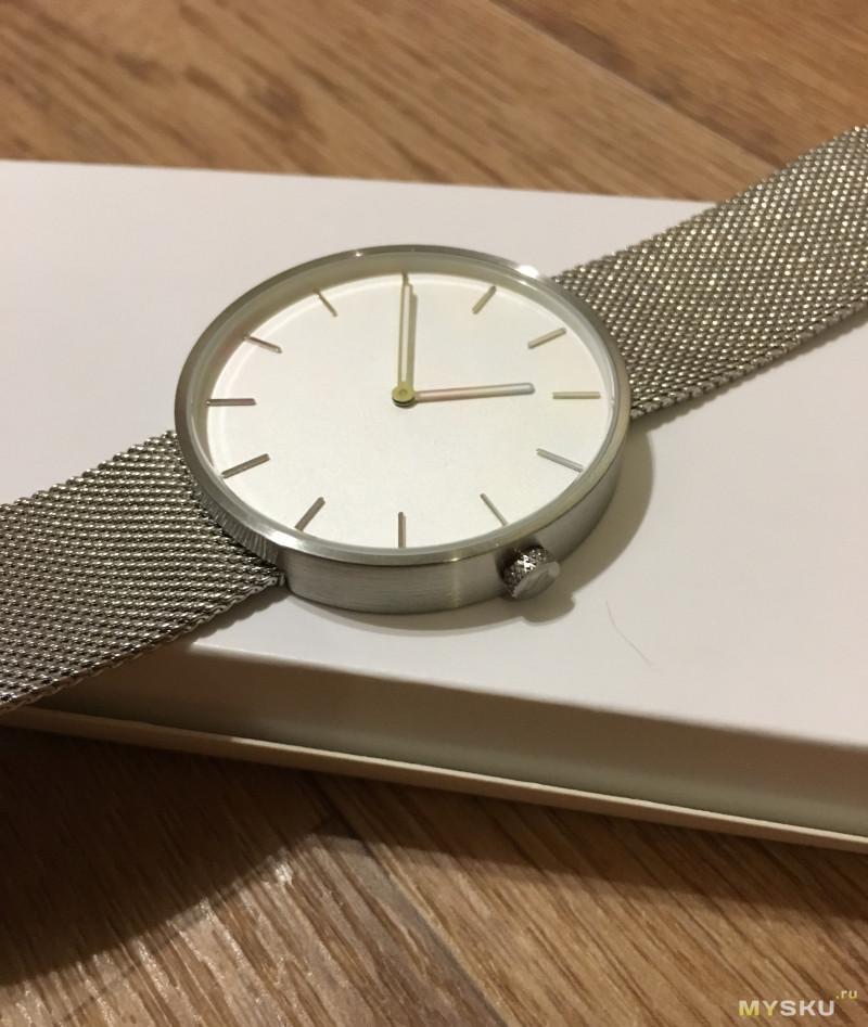 Кварцевые часы Xiaomi TwentySeventeen, версия со стальным ремешком
