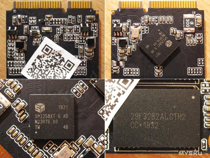 SSD mSATA M3-128 ГБ от Zheino