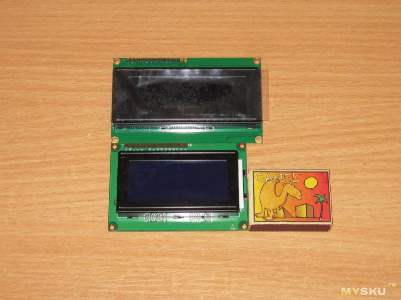 Символьный ЖК дисплей 1604