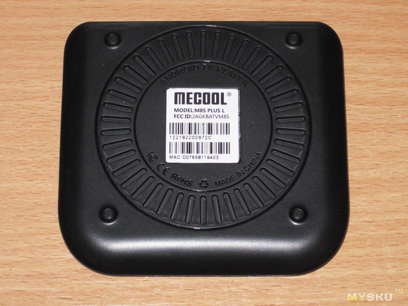 ТВ бокс Mecool M8S Plus L на базе S912