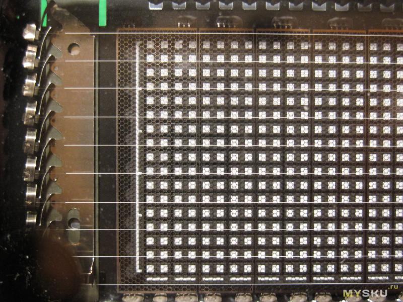 Индикатор уровня сигнала с VFD дисплеем