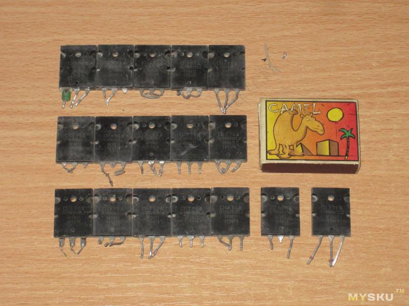 IXTK90N25L2 или как я БУ транзисторы на Тао покупал