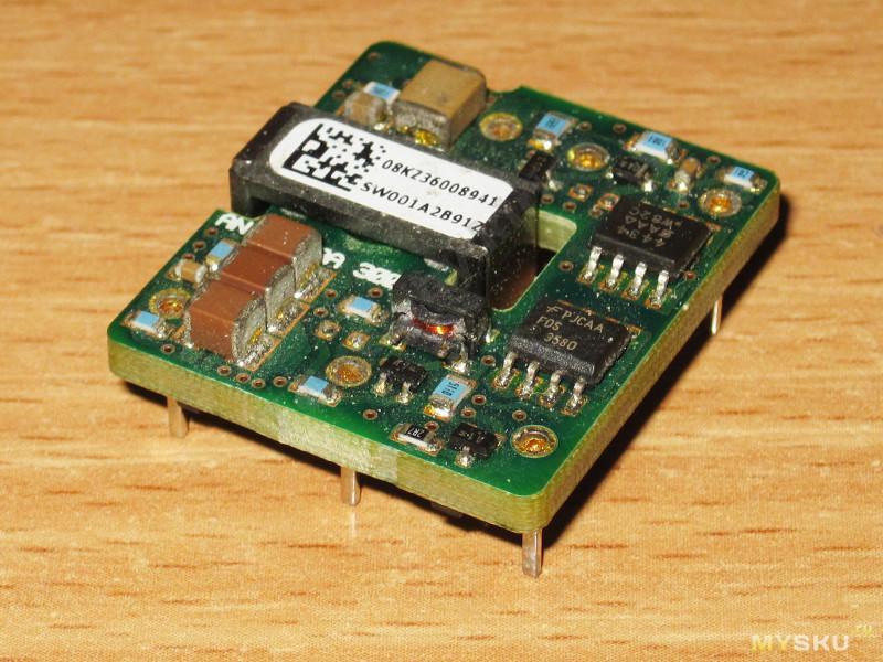 Мелкий преобразователь напряжения мощностью 15 Ватт с гальванической развязкой