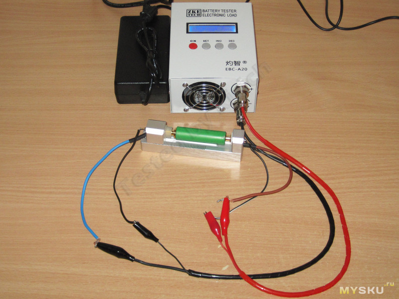 EBC-A20, еще одна электронная нагрузка от ZKEtech с током до 20 Ампер и встроенным зарядным