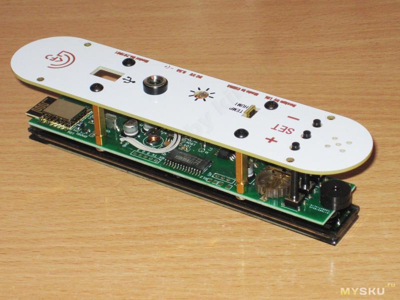 Настольные часы с VFD и синхронизацией по WiFi