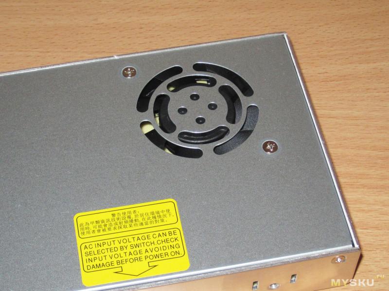 Низкопрофильный блок питания Meanwell LRS-350-24