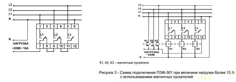Переключатель фаз Новатек-Электро ПЭФ-301