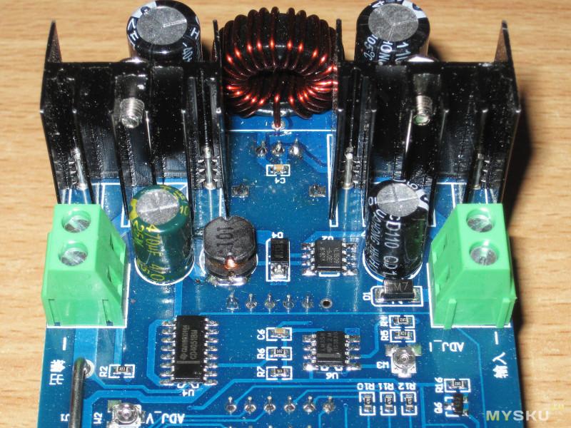 Регулируемый преобразователь напряжения XH-M403