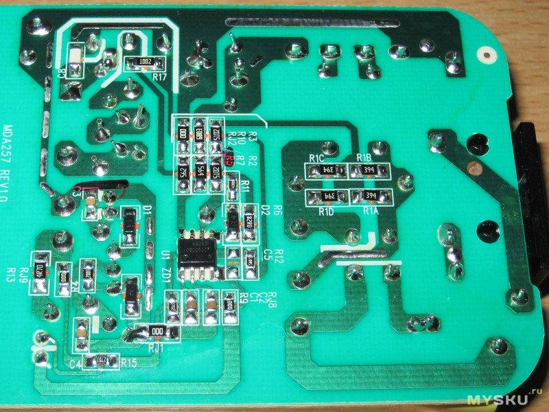 Зарядное устройство Modiary MDA238 42V 2A для 10S сборок литиевых аккумуляторов