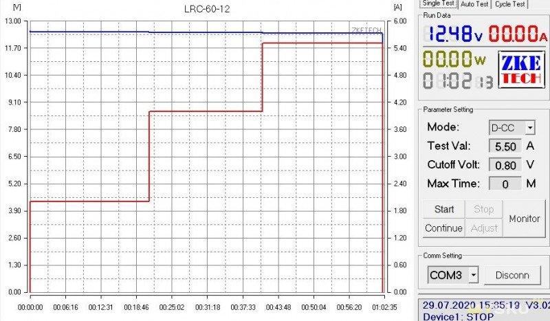 Пара блоков питания мощностью 60Вт на напряжение 12 и 24 вольта