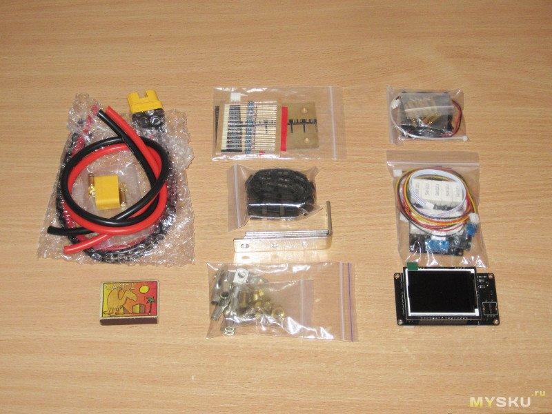 Контроллер аппарата точечной сварки и разные другие компоненты
