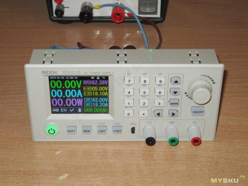 Новая модель преобразователя от RuiDeng - RD6018