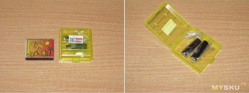 Аккумуляторы Vapcell, часть шестая, типоразмер 10370