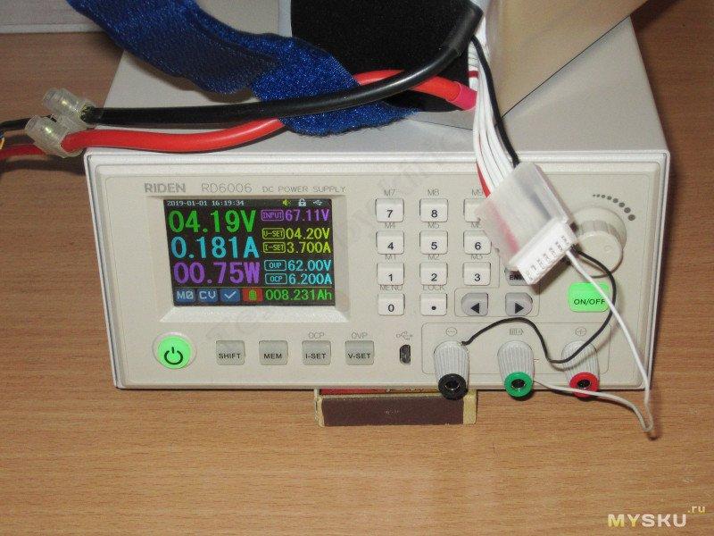 Активный емкостной балансир для 6S аккумуляторных батарей
