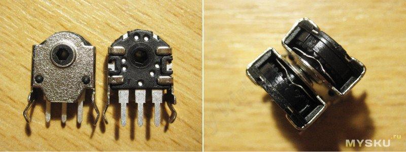 Мелкий энкодер и восстановление старой мышки