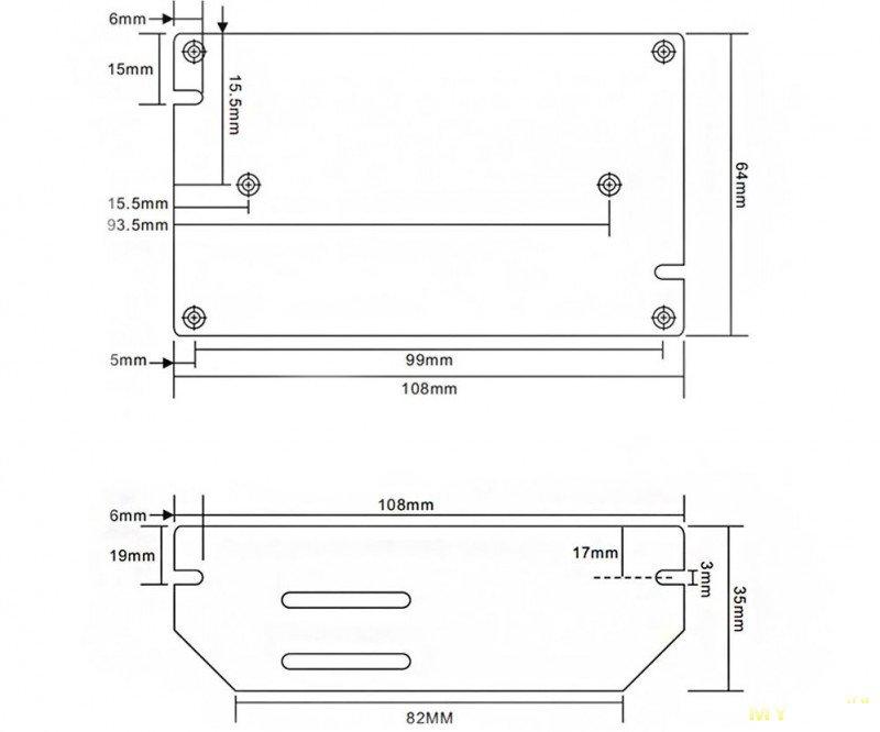 Блок питания UM-U120S, 12 вольт 10 ампер