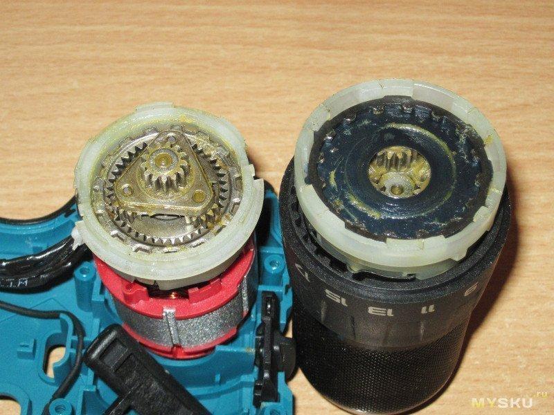 Двухскоростной шуруповерт/дрель с бесколлекторным двигателем