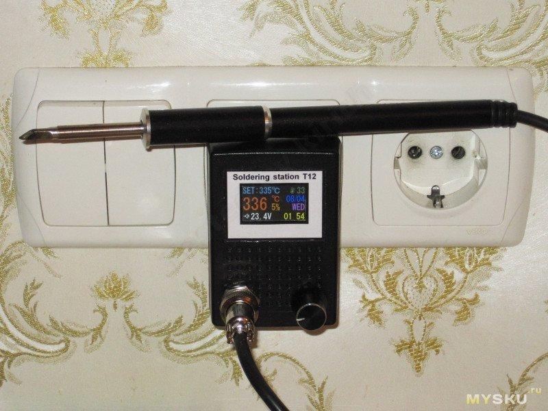 Ручка Ksger для паяльной станции T12 или Советы по сварке утюгов