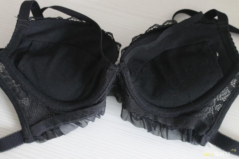 Черное кружевное...или необычный комплект нижнего белья.