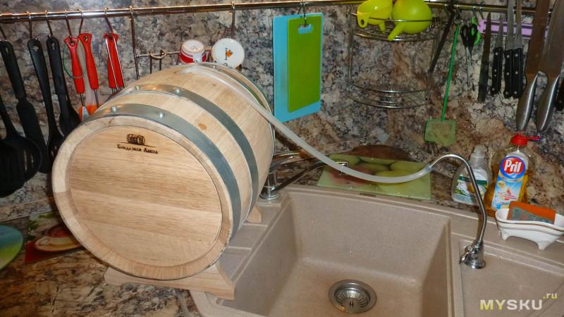 Дубовая бочка для выдержки крепких напитков. Критерии выбора и подготовка к использованию.