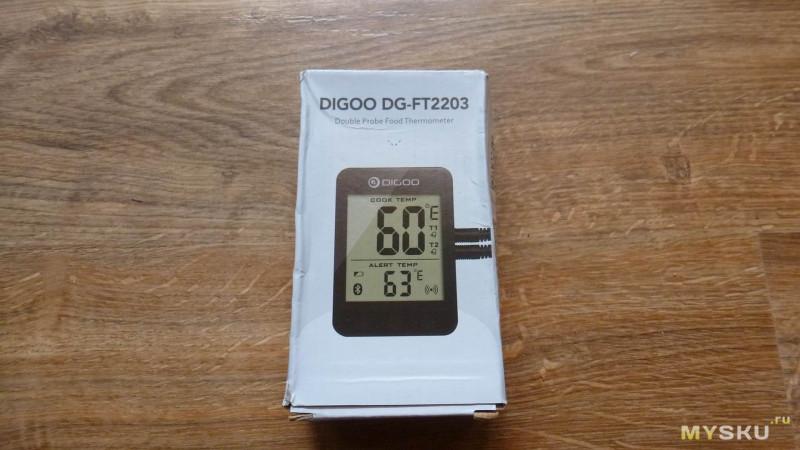 Смарт термометр на 2 канала Digoo DG-FT2203. Ищем оптимальный градусник для самогонного аппарата