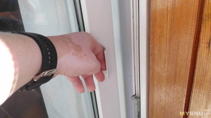 Ручка курильщика. Балконная притворная.