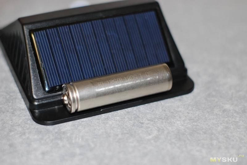 Светильник с датчиком движения (инфернальный)
