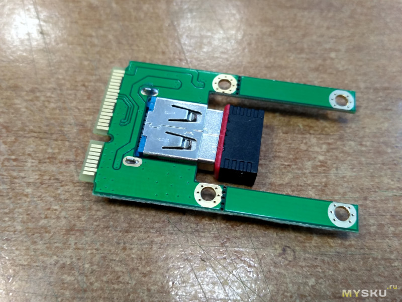Изготавливаем замену Mini PCI-E сетевой карты для ноутбука